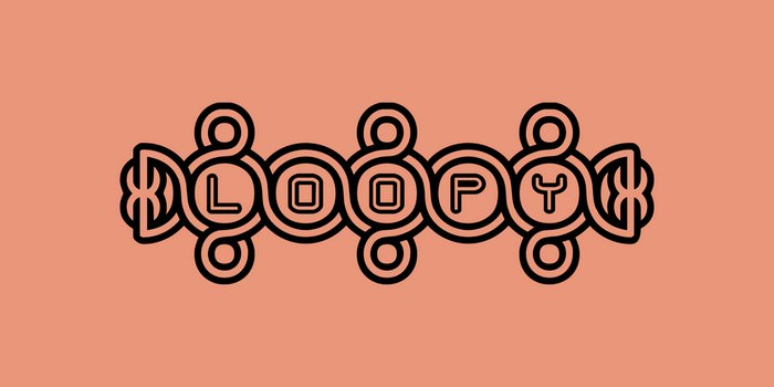 Loopy BRK Font
