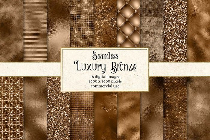 Luxury Bronze Textures