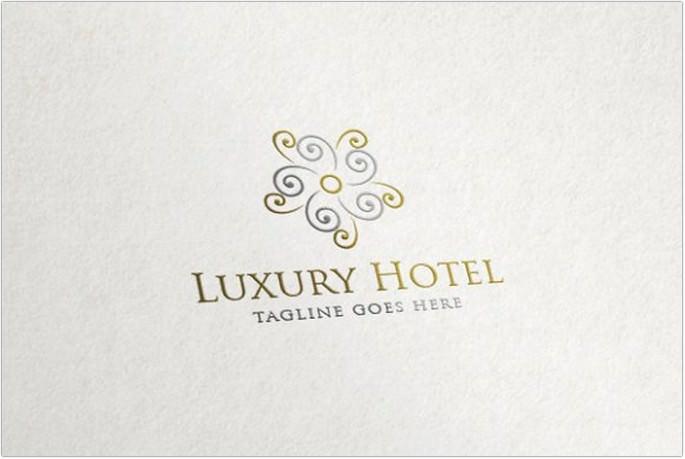 Luxury Hotel Logo design