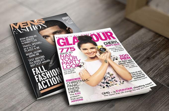 Magazine Mock-ups Free