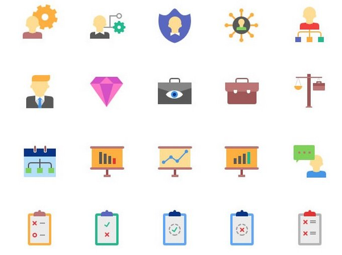 Magicons 100 Business Icons