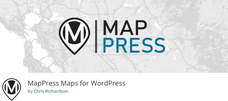MapPress Maps for WordPress(Free)