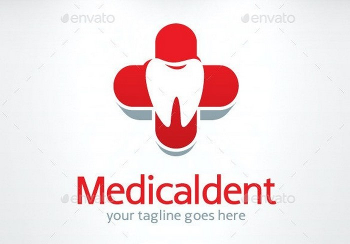 Medical dent Logo