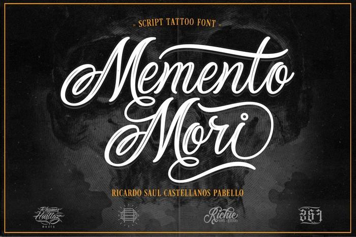 Memento Mori (Tattoo Font)
