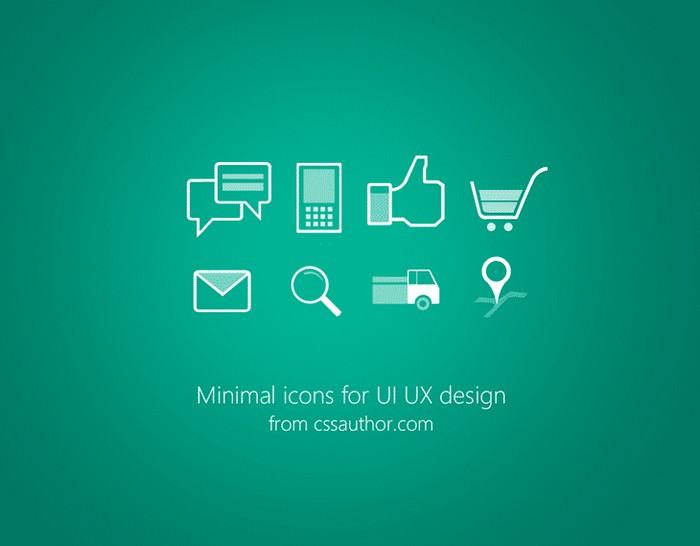 Minimal Icons PSD