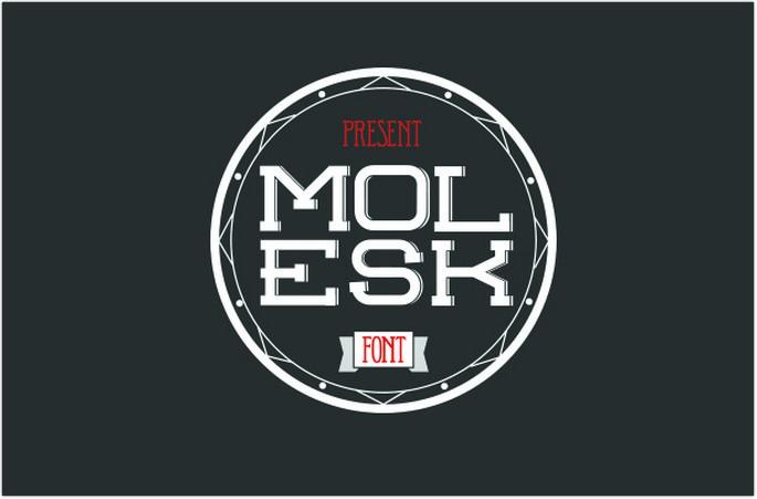 Free Molesk Font