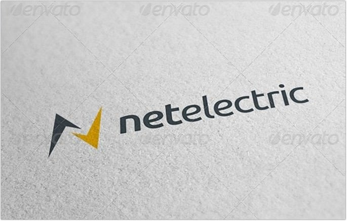 Net Electric Logo design