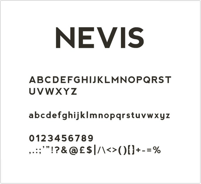 Free Nevis Font