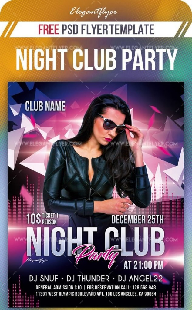 Night Club Party – Free Flyer
