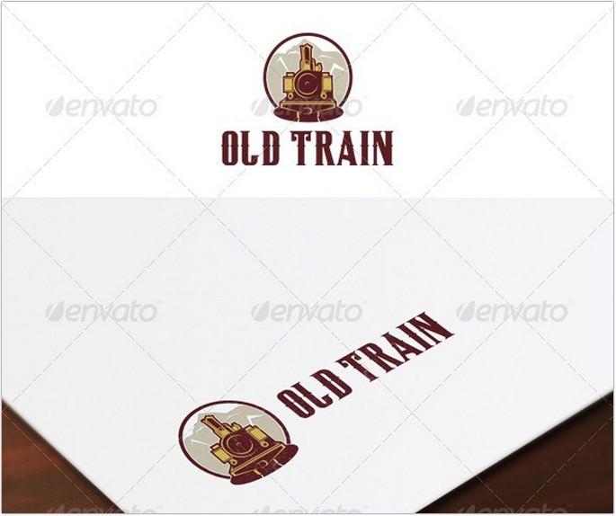 Old Train Logo # 2