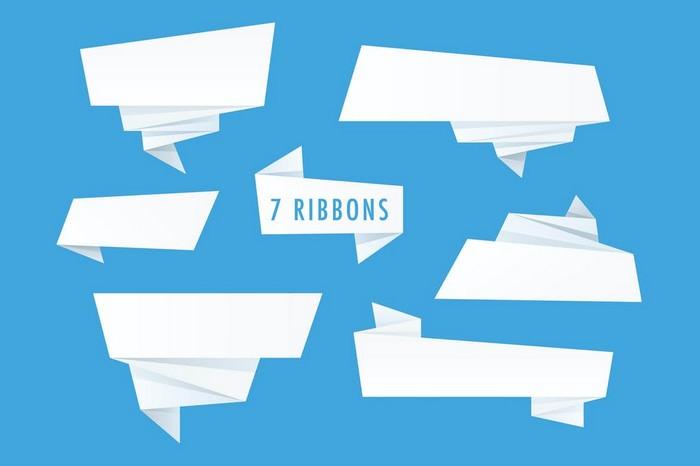 Origami Ribbons
