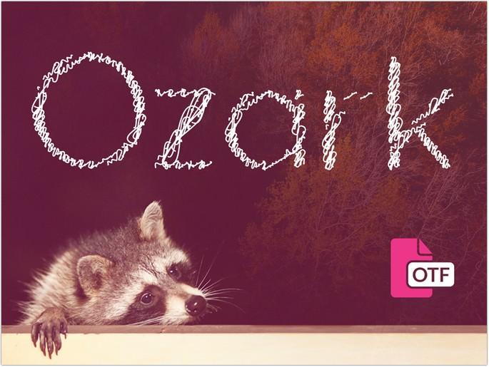Ozark - Free Font