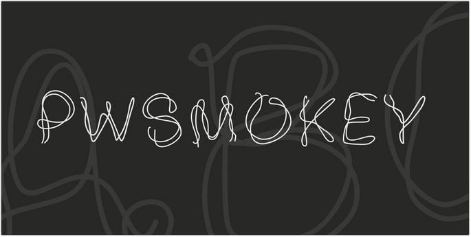 PWSmokey Font