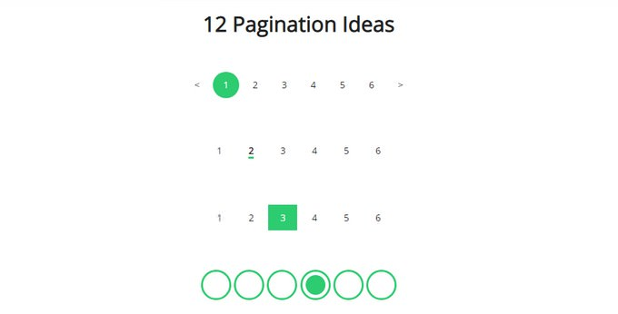 Pagination A PEN BY Rosa