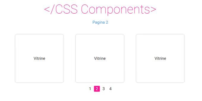 Pagination Pure CSS