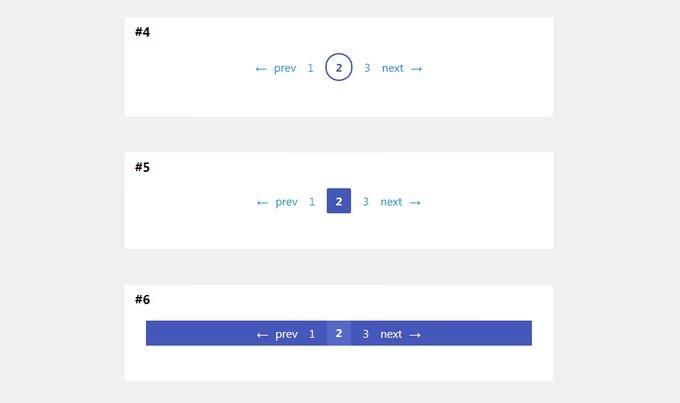 Pagination with CSS Custom Propertie