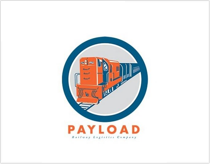Railway Logistics Logo