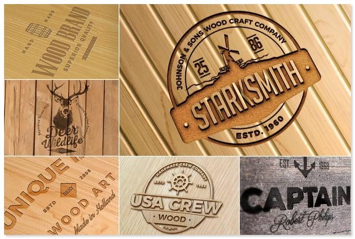 30 Best Wood Logo Mockups Psd Templates Templatefor