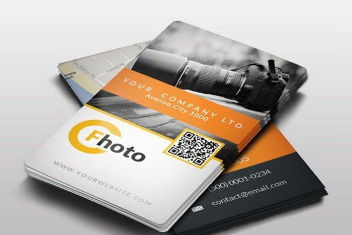 Photographer Business Card #2