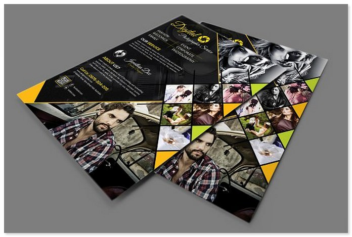 Photography Advertising Flyer