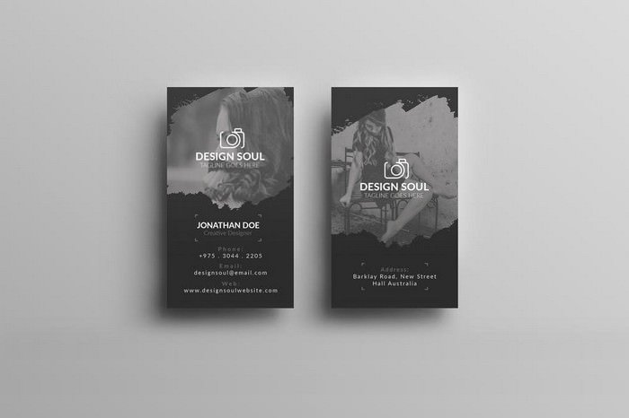Photography Business Card - Design Soul