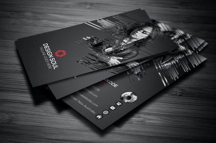 Photography Business Card PSD
