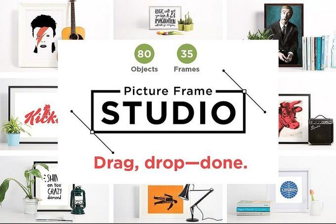 Picture Frame Studio mockup creator