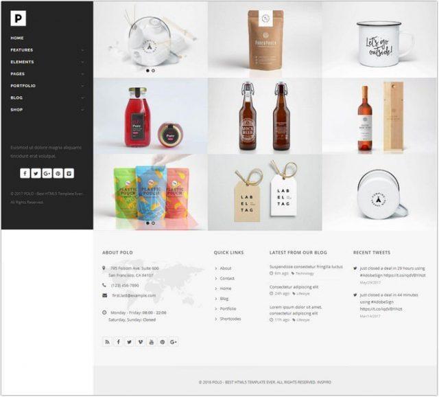 Polo - Responsive Portfolio HTML5 Template