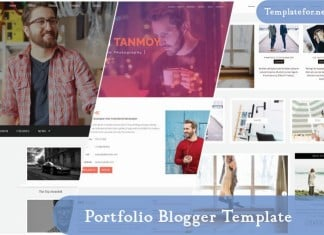 Portfolio Blogger Template
