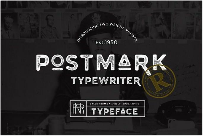 Postmark Typewriter
