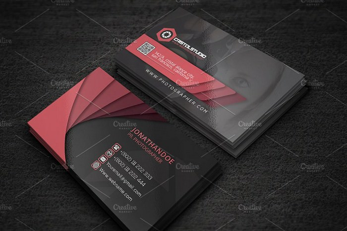 Pr Photography Business Card
