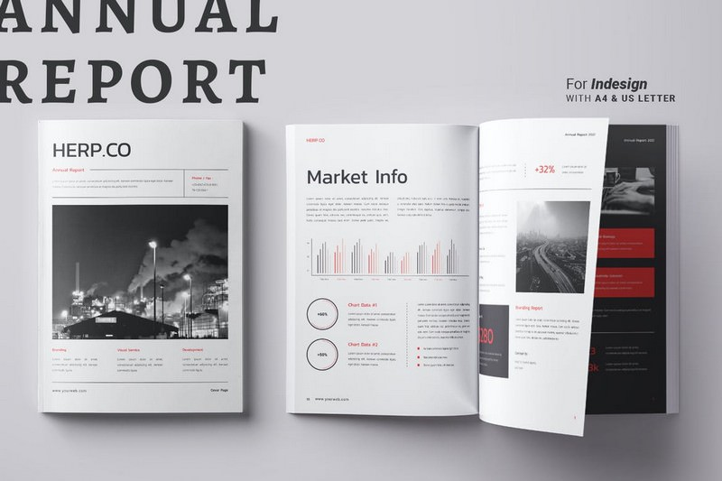 Presenting Annual Report Brochure