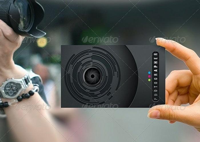 Pro Photographer Business Card