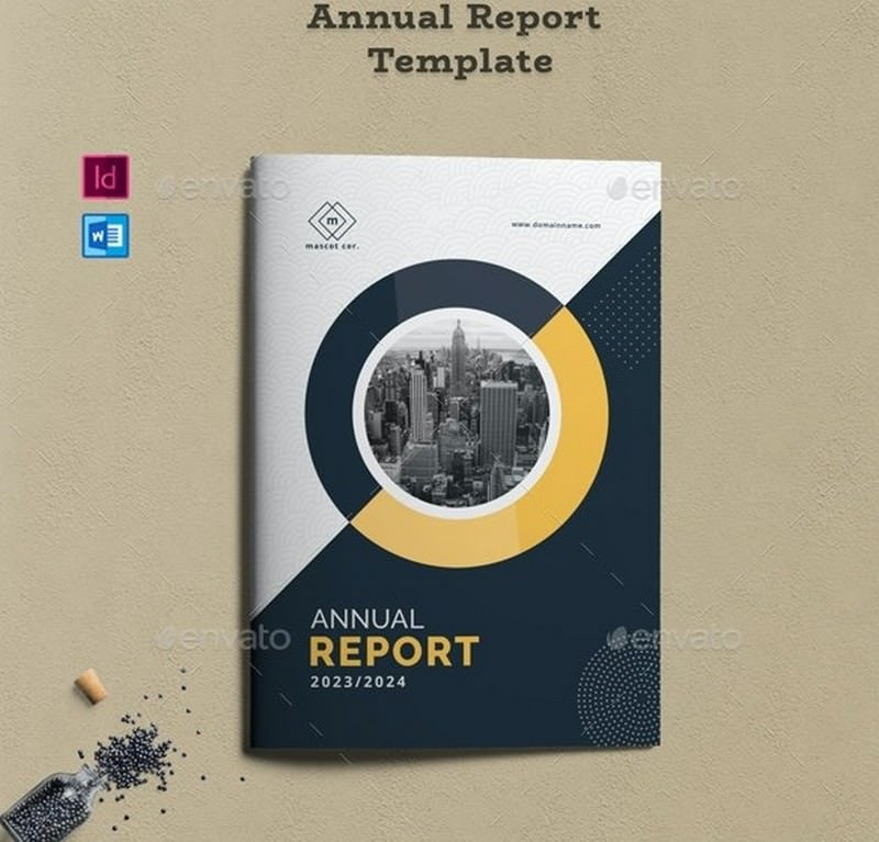 Professional and Corporate Annual Report Template