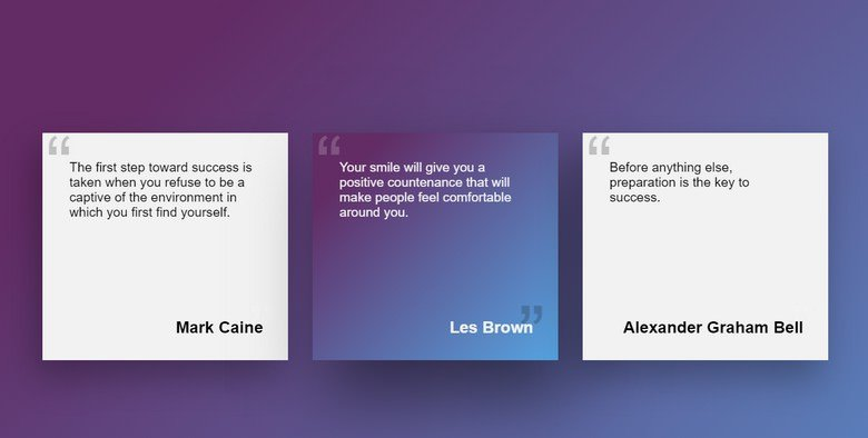 Pure CSS Box Hover with Background Effect