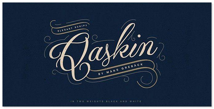 Qaskin Font