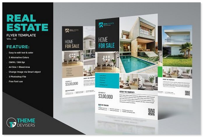Real Estate Advertising Flyer