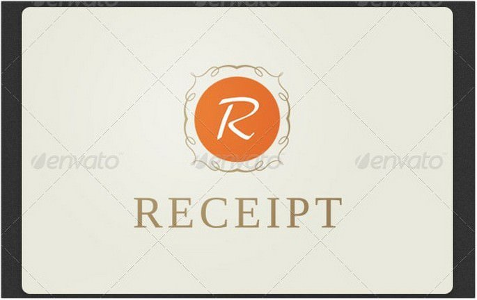 Receipt Retro Logo