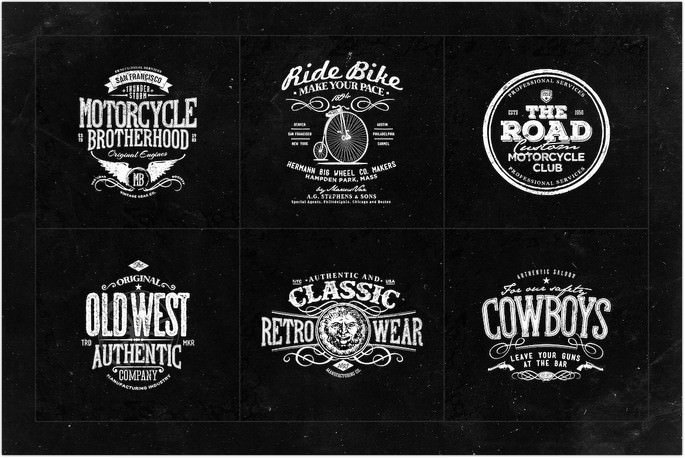 Retro Logo Template