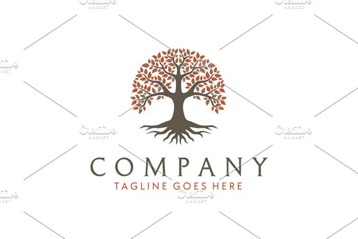 Root Leaf Family tree of life logo