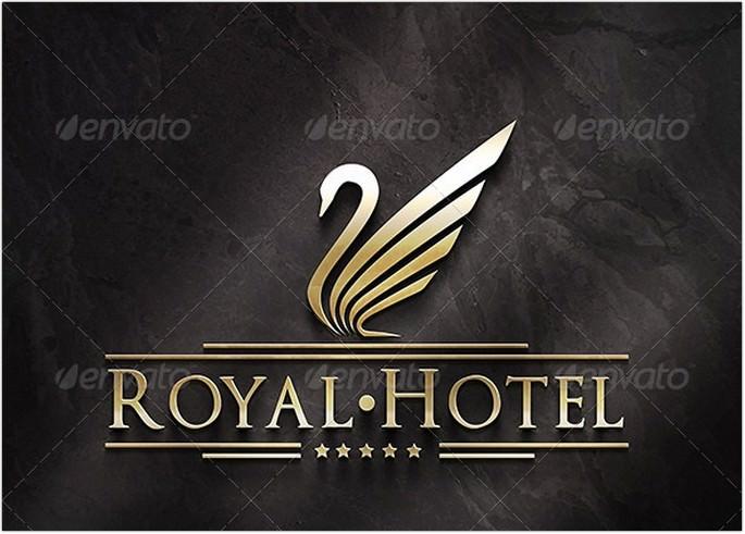 Royal Hotel Logo Design