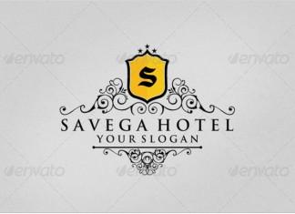Savega Hotel Logo design