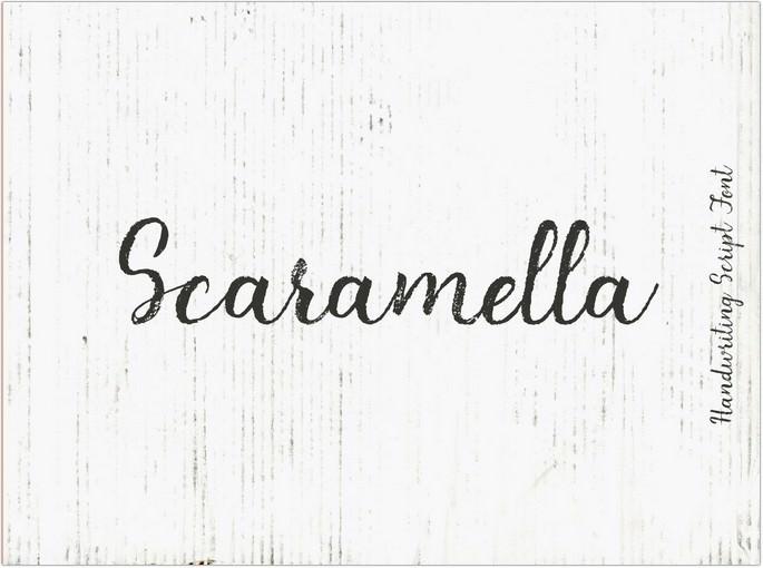 Scaramella Handwriting