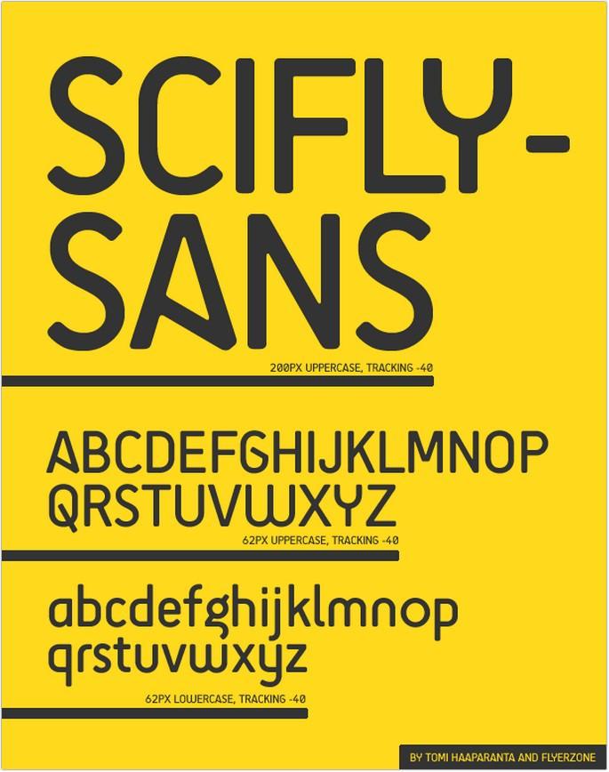 SciFly Sans Font