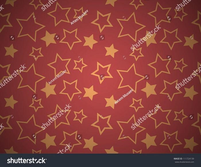 Seamless Star Texture