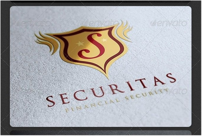 Security Retro Logo
