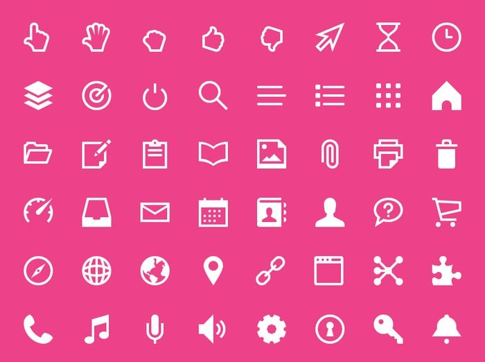 Set Of Touch IconsFreebies