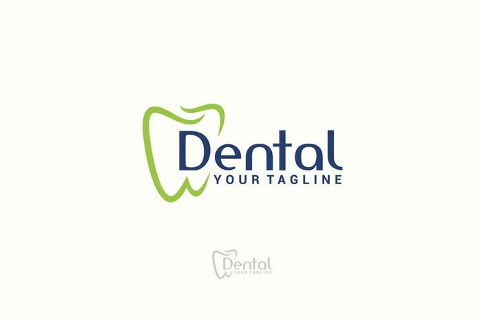 Simple Dental logo Design Template