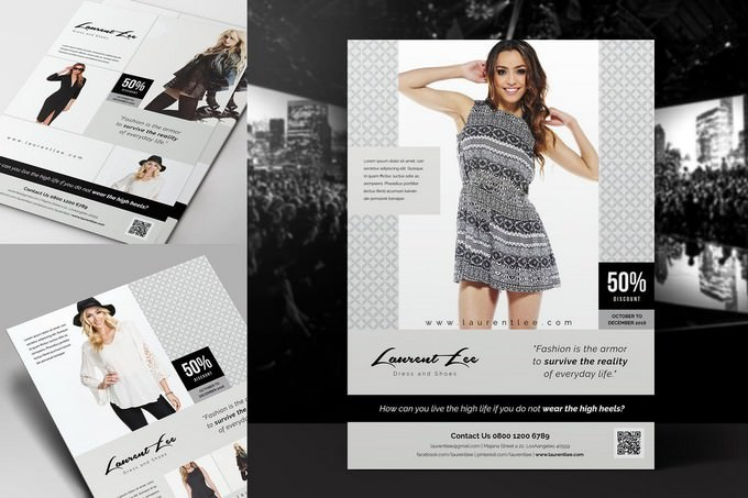 Simple Fashion Flyer