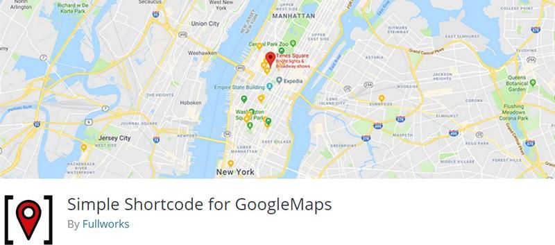 Simple Shortcode for GoogleMaps
